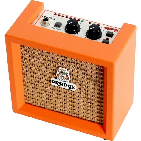 Orange MICRO CRUSH amplificador de guitarra eléctrica en miniatura de 2W