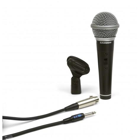 samson r21s microfono dinamico para karaoke