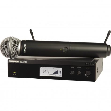 shure blx24/sm58-h10 sistema inalambrico con microfono