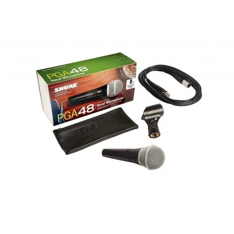shure pga48 microfono dinamico