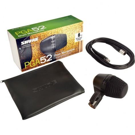 shure pga52 microfono dinamico