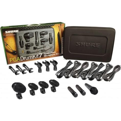 shure pga drumkit 7 set de microfonos para bateria