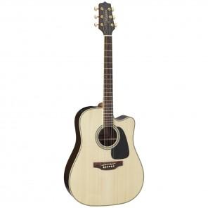 Takamine GD51CE Guitarra dreadnought electro-acústica Cuerpo - PaloRosa con tapa sólida de Abeto Brazo - Caoba 20 trastes en diapasón PaloRosa Puente - PaloRosa Preamp - Takamine TP-4TD con ecualizador de 3 bandas y afinador integrado