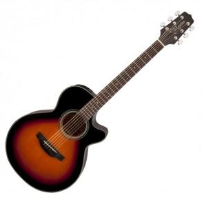 Takamine GF15CE Guitarra estilo FXC electro-acústica Cuerpo - Caoba con tapa de Abeto Brazo - Caoba 20 trastes en diapasón PaloRosa Puente - PaloRosa Preamp - Takamine TP-4T con ecualizador de 3 bandas y afinador integrado