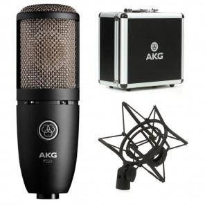 akg p220 microfono de condensador
