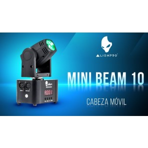 Alien mini beam 10 luces