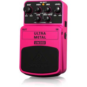 behringer um300 ultra metal pedal de efecto distorsion