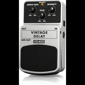 behringer vd400 vintage delay pedal de efecto de retraso echo eco