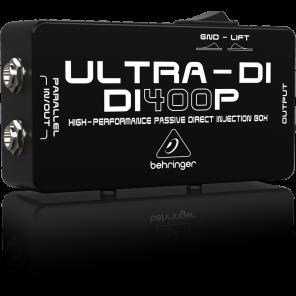 behringer ultra di400p caja directa
