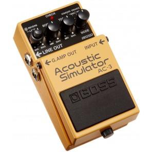Pedal Boss AC-3 ACOUSTIC SIMULATOR simulador de guitarra acustica