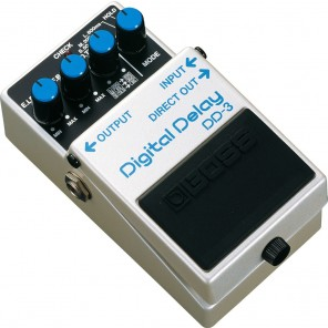 Pedal Boss DD-3 DIGITAL DELAY repeticion retardo digital