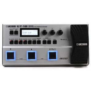 boss gt-1b bass multi-effects processor Procesador multiefectos de bajo con 90 amperios y efectos El motor de sonido insignia de BOSS, afinado para la guitarra baja Incluye efectos MDP (procesamiento multidimensional) Cubre todo, desde efectos comunes com