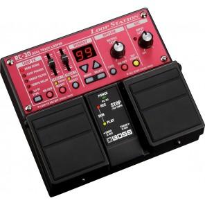 Pedal Boss RC-30 DUAL TRACK LOOPER generador de bucles múltiples para grabación