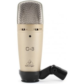 Behringer C-3 microfono de condensador