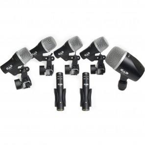 cad cad stage 7 set microfonos para bateria con estuche