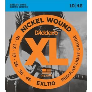 d'addario exl110 Encordadura para guitarra eléctrica fabricada en nickel