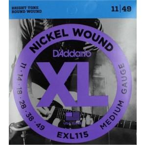 d'addario exl115 Encordadura para guitarra eléctrica fabricada en nickel