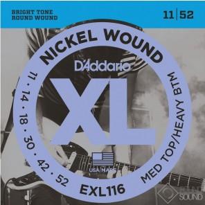 d'addario exl116 Encordadura para guitarra eléctrica fabricada en nickel
