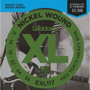 d'addario exl117 Encordadura para guitarra eléctrica fabricada en nickel