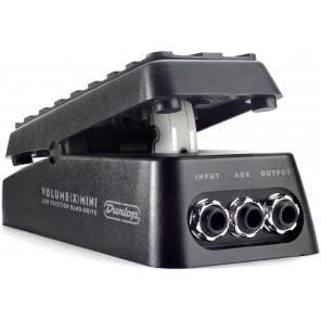 Dunlop Volume X Mini Pedal Pedal controlador miniatura de volumen para guitarra y bajo eléctrico Tras el éxito de su Cry Baby Mini Wah se encuentra Dunlop's DVP4 Volume (X) Mini Pedal Es un pedal de volumen ultracompacto con una salida auxiliar que se pue