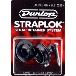 dunlop straplock sls1033bk Juego de candados para correa de instrumento Color negro