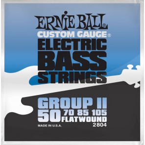 ernie ball 2804 group ll Encordadura plana para bajo eléctrico fretless