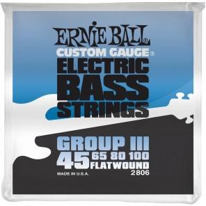 ernie ball 2806 group lll Encordadura plana para bajo eléctrico fretless