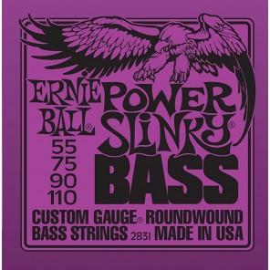 ernie ball 2831 power slinky bass Encordadura nickelada para bajo eléctrico