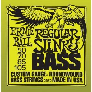ernie ball 2832 regular slinky bass Encordadura nickelada para bajo eléctrico