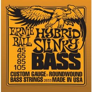 ernie ball 2833 hybrid slinky bass Encordadura nickelada para bajo eléctrico