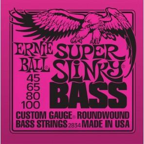 ernie ball 2834 super slinky bass Encordadura nickelada para bajo eléctrico