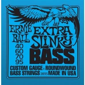 ernie ball 2835 extra slinky bass Encordadura nickelada para bajo eléctrico