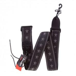fender strap strar Correa rígida para instrumento con diseño de estrellas