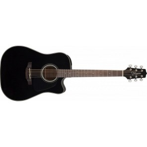 Guitarra dreadnought electro-acústica Cuerpo - Caoba con tapa sólida de Abeto Brazo - Caoba 20 trastes en diapasón PaloRosa Puente - PaloRosa Preamp - Takamine TP-4TD con ecualizador de 3 bandas y afinador integrado