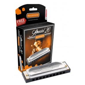 hohner 560pbx special 20 armonica de 10 orificios tonos G y C