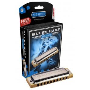 hohner blues harp armonica diatonica de 10 orificios tonos G y C