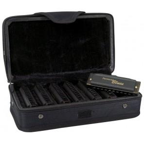 hohner pbh7 piedmont blues paquete de 7 armonicas diatonicas de 10 orificios en tonos A Bb C D E F G