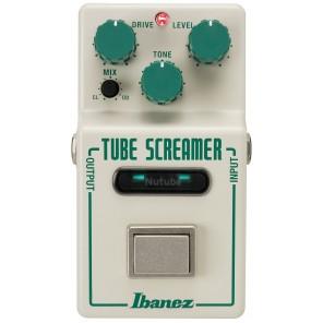 El NTS Tubescreamer NuTube Overdrive de Ibanez incorpora la tecnología NuTube, que permite a los instrumentistas conseguir esa característica sonora especial de ricos armónicos. Dentro de una carcasa compacta y elegante, el NTS Tubescreamer NuTube Overdri