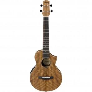 ibanez uewt14e ukulele electroacustico tenor con corte