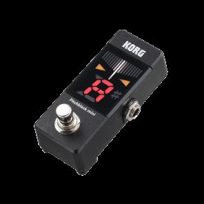 Pedal Korg PB-MINI PITCHBLACK afinador cromático digital miniatura para bajo y guitarra