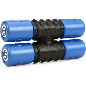 lp twist shaker medium blue lp441t-m Par de agitadores de tono medio montables entre si El mecanismo de bloqueo de torsión te permite tocarlos como un conjunto en 1 mano El sonido rico de la coctelera es perfecto para ese toque extra de percusión