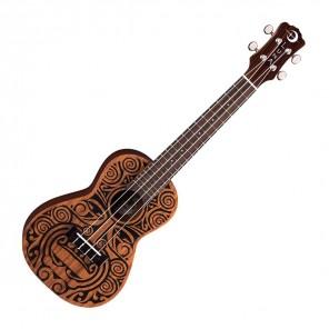 luna tribal concert ukulele acustico con bolsa