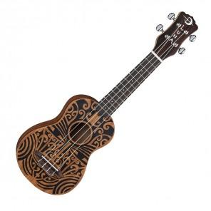 luna tribal soprano ukulele acustico con bolsa