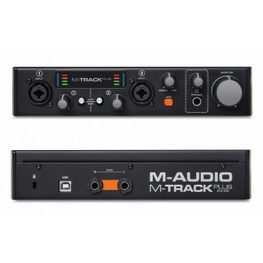 m-audio m track plus Interfaz de grabación profesional para música digital