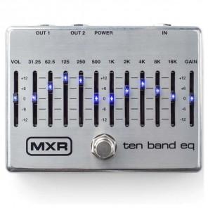 Pedal MXR M108S - SILVER 10 BAND EQ ecualizador gráfico