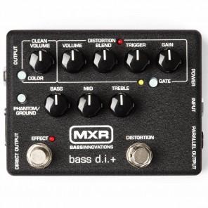 Pedal MXR M80 - BASS DI+ distorsión para bajo eléctrico y caja directa
