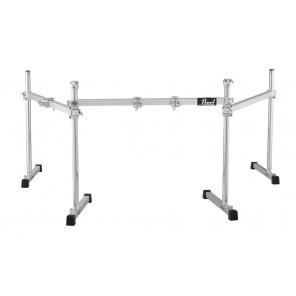 """pearl dr503 drum rack DR-503 ICON 3-Sided Drum Rack proporciona un ajuste infinito e independiente a cualquier posición en sus piernas de 34 """"de largo Las abrazaderas de memoria configuradas y olvidadas permiten configuraciones rápidas y repetibles sin he"""