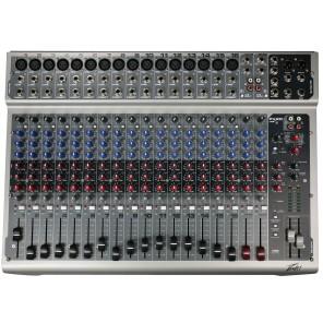 peavey pv20usb mezcladora analogica de 20 canales con usb