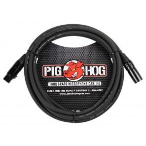 PigHog Cable Micrófono 10ft Cable de micrófono de alto rendimiento! Mide 10ft (3m) de largo, cuenta con alambres extra gruesos de 8mm y conectores XLR con calidad de alto rendimiento Los cables Pig Hog están precisamente construidos para resistir las cond