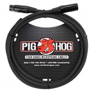 PigHog Cable Micrófono 6ft Cable de micrófono de alto rendimiento! Mide 6ft (1.9m) de largo, cuenta con alambres extra gruesos de 8mm y conectores XLR con calidad de alto rendimiento Los cables Pig Hog están precisamente construidos para resistir las cond